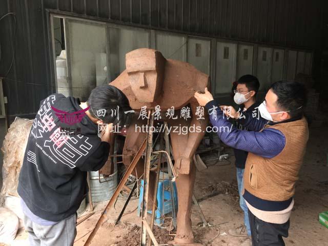贵州毕节市威宁县乌撒体育广场不锈钢竞博投注制作(上)