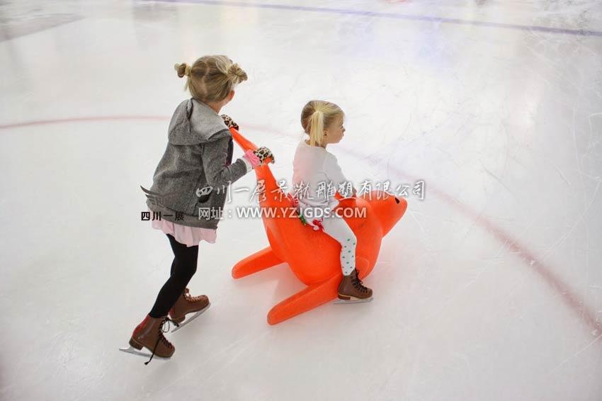 玻璃钢滑冰辅助器2